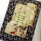 Канцелярские товары ручной работы. Ярмарка Мастеров - ручная работа Альбом для гербария. Handmade.