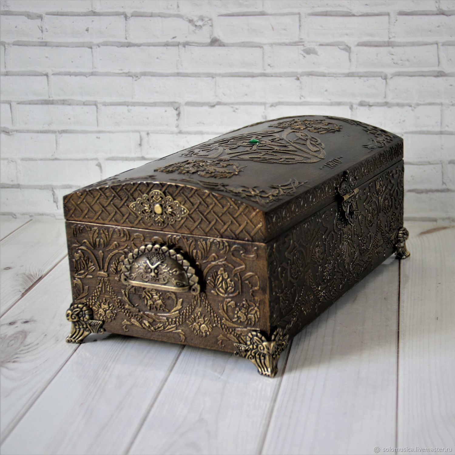 """Treasure Chest""""Treasury"""" – shop online on Livemaster with shipping"""