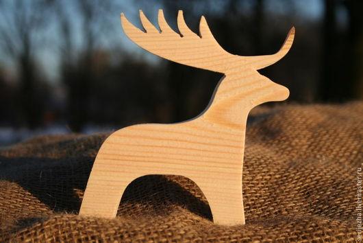 Олень, деревянная игрушка ручной работы