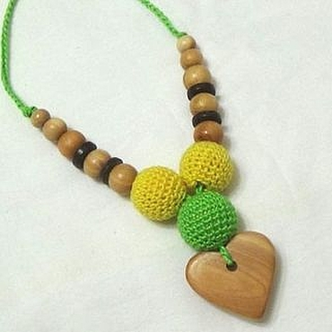 Одежда ручной работы. Ярмарка Мастеров - ручная работа Слингокулон с можжевеловым сердечком. Handmade.