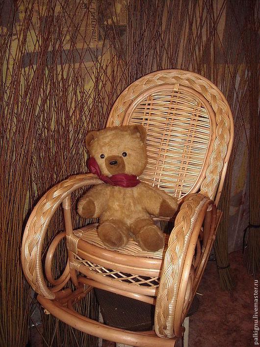 """Детская ручной работы. Ярмарка Мастеров - ручная работа. Купить Кресло-качалка """"Солнечное"""" для детей. Handmade. Желтый, детская комната"""