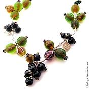 Украшения handmade. Livemaster - original item Set necklace and earrings handmade Charm summer. Handmade.