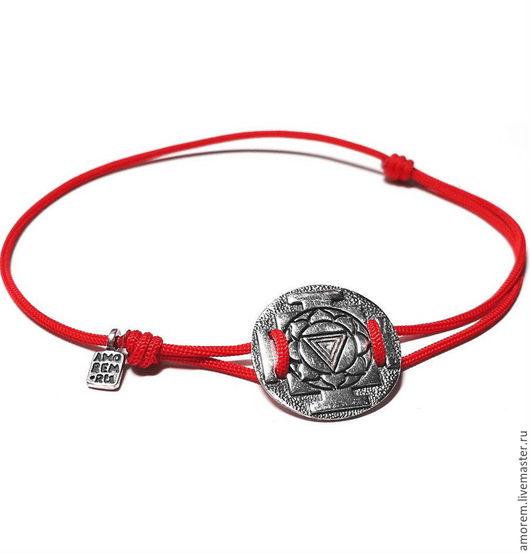 Браслеты ручной работы. Ярмарка Мастеров - ручная работа. Купить Кали-Янтра, браслет на нити. Handmade. Комбинированный, янтра