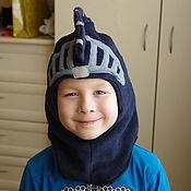 Работы для детей, ручной работы. Ярмарка Мастеров - ручная работа Шапка-шлем Рыцарь. Handmade.