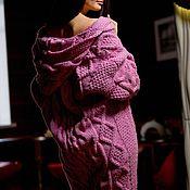 Одежда handmade. Livemaster - original item Hooded cardigan and braids. Handmade.
