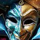 """Интерьерные  маски ручной работы. Маска Джокер """"Венецианский плут"""" (veneziano dodger). Рука Солнца   *авторские маски*. Ярмарка Мастеров."""