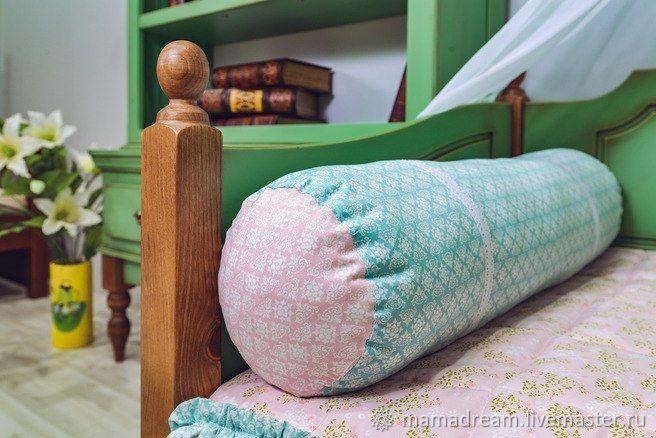 Декоративная подушка-валик, Детская подушка, Санкт-Петербург,  Фото №1