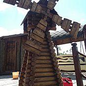 Для дома и интерьера ручной работы. Ярмарка Мастеров - ручная работа мельница декоративная. Handmade.