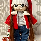 Куклы Тильда ручной работы. Ярмарка Мастеров - ручная работа Куклы Тильда: Интерьерная кукла. Handmade.