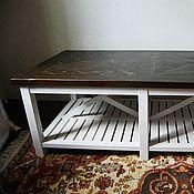 Для дома и интерьера ручной работы. Ярмарка Мастеров - ручная работа журнальный стол. Handmade.