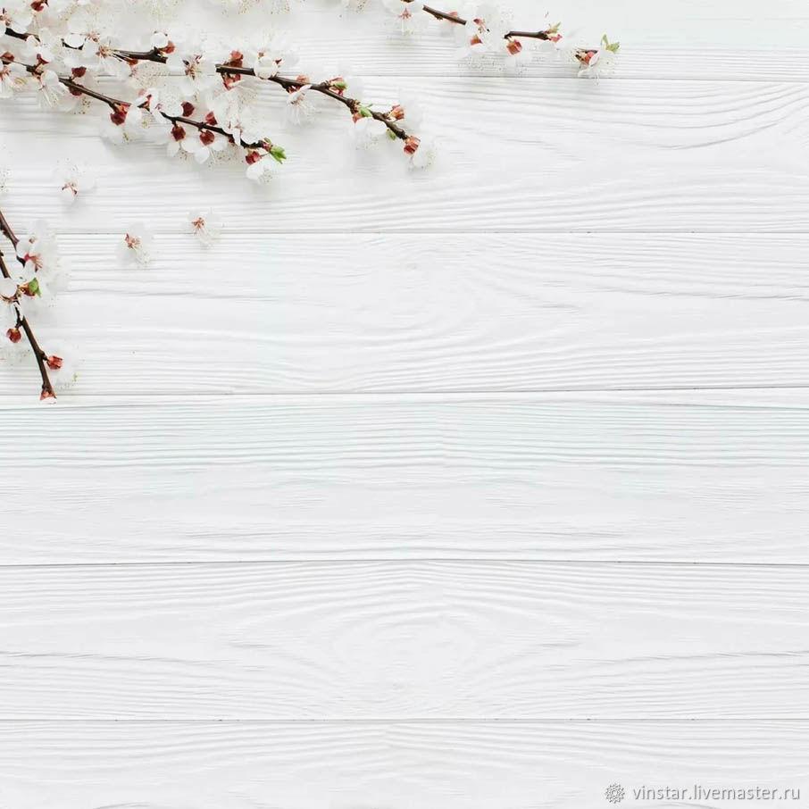 Фотофон виниловый Вишня на белом, Фото, Курск,  Фото №1