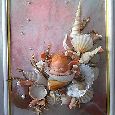 """Картины и панно ручной работы. Ярмарка Мастеров - ручная работа """" Коралловый риф"""". Handmade."""