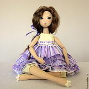 Куклы и игрушки ручной работы. Ярмарка Мастеров - ручная работа Серена - авторская текстильная кукла. Handmade.