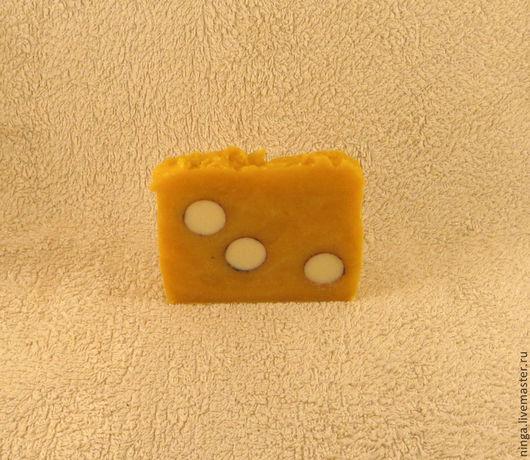Мыло ручной работы. Ярмарка Мастеров - ручная работа. Купить Нежное ланолиновое мыло. Handmade. Желтый, солнце, чувствительная кожа