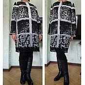 """Одежда ручной работы. Ярмарка Мастеров - ручная работа пальто """"Все оттенки серого"""". Handmade."""