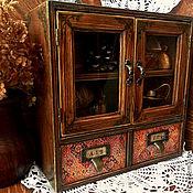 Для дома и интерьера ручной работы. Ярмарка Мастеров - ручная работа Шкафчик или аптечка или комодик или.... Handmade.