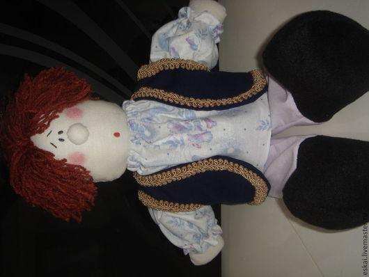 Сказочные персонажи ручной работы. Ярмарка Мастеров - ручная работа. Купить Емеля кукла 47см сказочный персонаж. Handmade. Белый