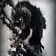 Сказочные персонажи ручной работы. Ярмарка Мастеров - ручная работа. Купить Фенрир, легендарный волк, тотемный компаньон и покровитель. Handmade.
