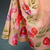 Одежда ручной работы. Ярмарка Мастеров - ручная работа Юбка в пол Весна. Handmade.