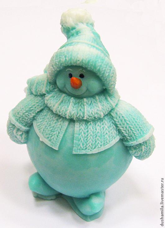 Мыло ручной работы. Ярмарка Мастеров - ручная работа. Купить Мыло Снеговик. Handmade. Снеговик, зима, сувенирное мыло