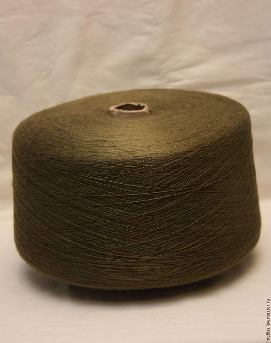 Вязание ручной работы. Ярмарка Мастеров - ручная работа. Купить Релакс (Турция). Handmade. Хаки, турецкая пряжа, пряжа на бобинах