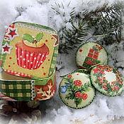 Подарки к праздникам ручной работы. Ярмарка Мастеров - ручная работа Набор с подвесками. Handmade.