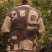 Одежда handmade. Livemaster - original item Cardigan men`s