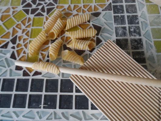 Кухня ручной работы. Ярмарка Мастеров - ручная работа. Купить Дощечка для пасты. Handmade. Белый, итальянская паста, кухонная утварь
