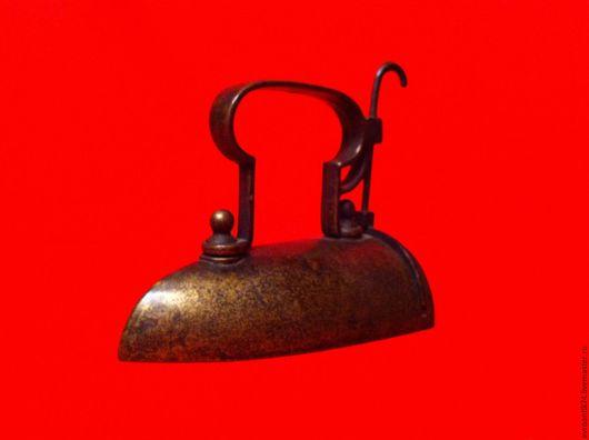 Винтажные предметы интерьера. Ярмарка Мастеров - ручная работа. Купить старинный утюг бронза Германия. Handmade. Старинный утюг, для дома