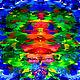 Абстракция ручной работы. Абстрактная картина `Отражение`. Ярмарка Мастеров - ручная работа. Купить Абстрактная живопись. Handmade. Lana Art Gallery Живопись & Дизайн.