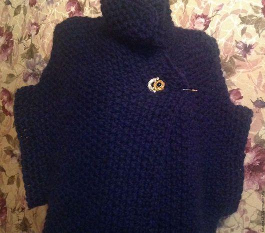 """Верхняя одежда ручной работы. Ярмарка Мастеров - ручная работа. Купить """"Verona""""  кейп ручной работы авторский дизайн. Handmade."""
