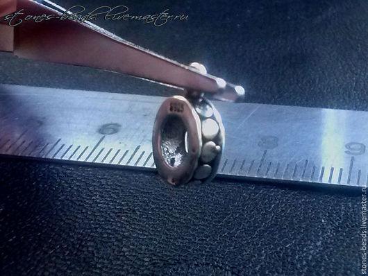 Для украшений ручной работы. Ярмарка Мастеров - ручная работа. Купить Бейл держатель подвески серебро 925 пробы. Handmade.