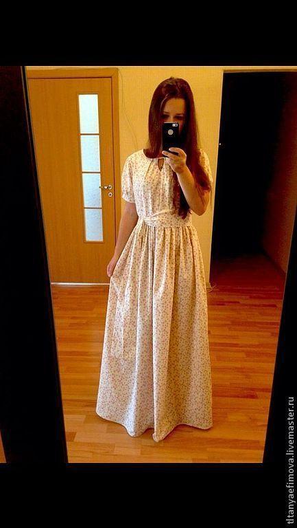 Платья ручной работы. Ярмарка Мастеров - ручная работа. Купить Пышное платье в пол Нежность. Handmade. Цветочный, красивое платье