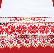 Свадебный салон ручной работы. Ярмарка Мастеров - ручная работа Хлебосольный свадебный рушник, модель 103. Handmade.