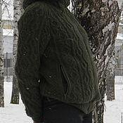 Куртки ручной работы. Ярмарка Мастеров - ручная работа Куртка  утепленная из ангоры Арановый лес. Handmade.