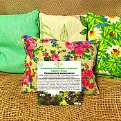 Для дома и интерьера handmade. Livemaster - original item Cedar pillow Natural immunity with herbs of the Altai Mountains. Handmade.
