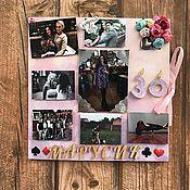 """Открытки ручной работы. Ярмарка Мастеров - ручная работа Открытка """"Любимой подруге в день 30-летия!"""". Handmade."""