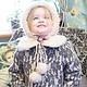 "Зимнее пальто "" Герда"". Childrens outerwears. 'Nezhnyj vozrast'. Online shopping on My Livemaster.  Фото №2"
