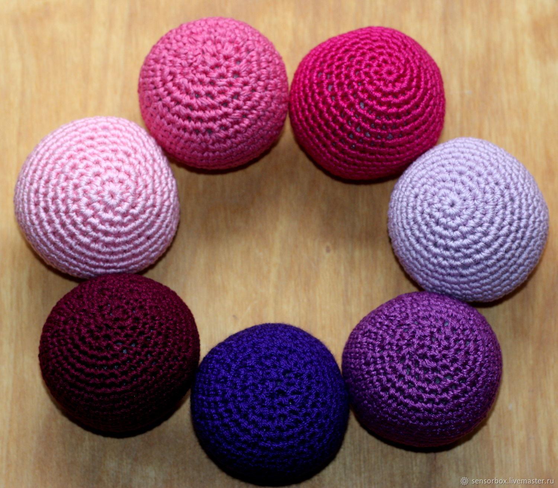 Картинки вязаных мячиков