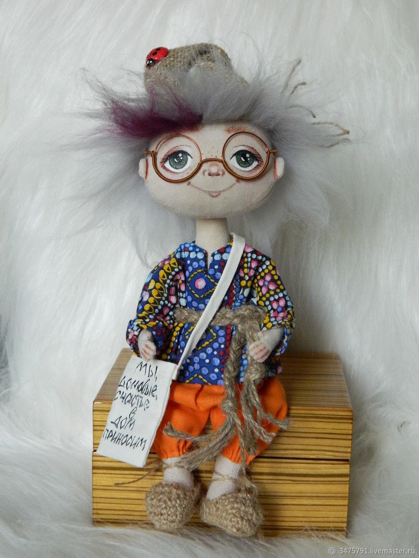 Текстильная кукла, Куклы и пупсы, Ростов-на-Дону,  Фото №1