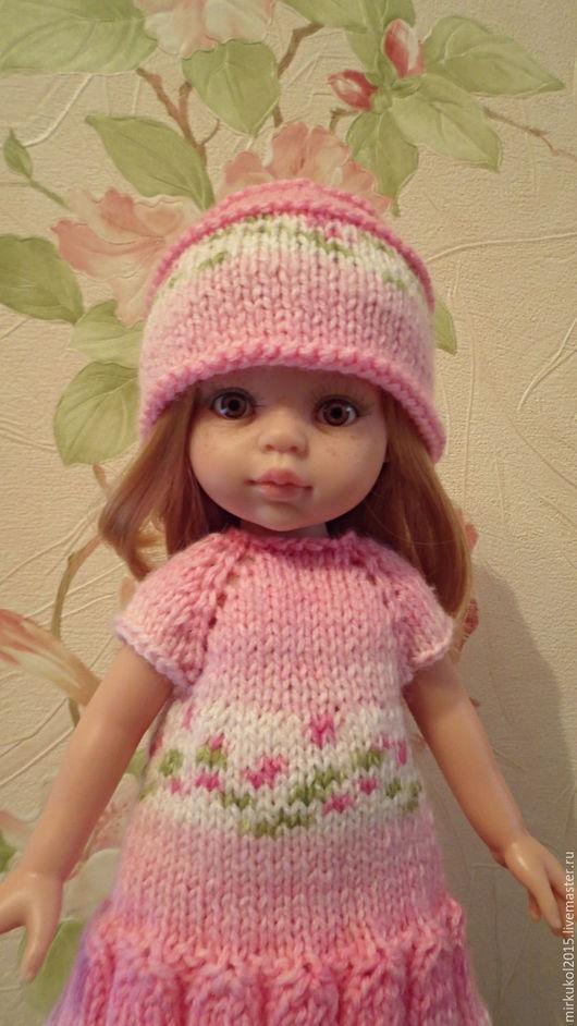 Одежда для кукол ручной работы. Ярмарка Мастеров - ручная работа. Купить Платье для Паола Рейна. Handmade. Розовый