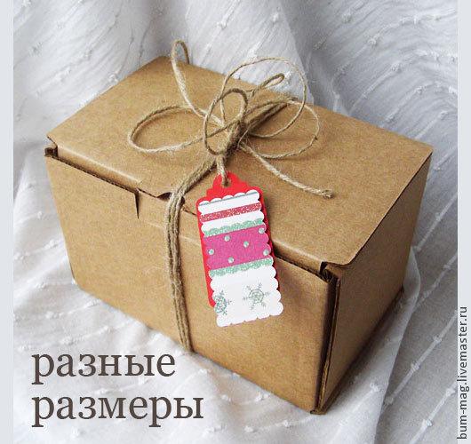 """Упаковка ручной работы. Ярмарка Мастеров - ручная работа. Купить Коробка """"СУНДУЧОК"""" из гофрокартона самосборная. Handmade. Упаковка, картонная коробка"""