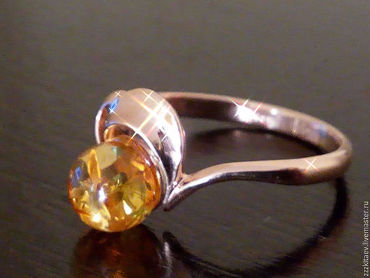 Кольца ручной работы. Ярмарка Мастеров - ручная работа. Купить кольцо АХ ,ЛЕТО(585). Handmade. Золотой, другое золото