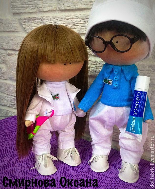 Интерьерная текстильная кукла, Куклы и пупсы, Москва, Фото №1