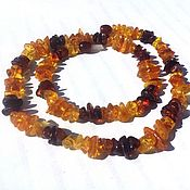 Работы для детей, handmade. Livemaster - original item Amber beads from natural amber for woman gift. Handmade.