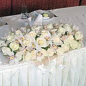 Свадебный салон ручной работы. Ярмарка Мастеров - ручная работа Композиция из орхидей. Handmade.