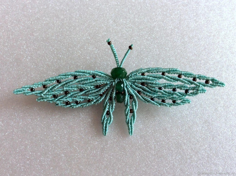 Бабочка, небольшая брошь, Брошь-булавка, Москва,  Фото №1