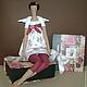 Dolls Tilda: Tilde doll for interior floral angel, Tilda Dolls, Bryansk,  Фото №1