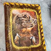 Сумки и аксессуары handmade. Livemaster - original item Passport cover OWL.. Handmade.