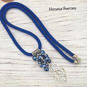 Украшения handmade. Livemaster - original item With pendant of beads